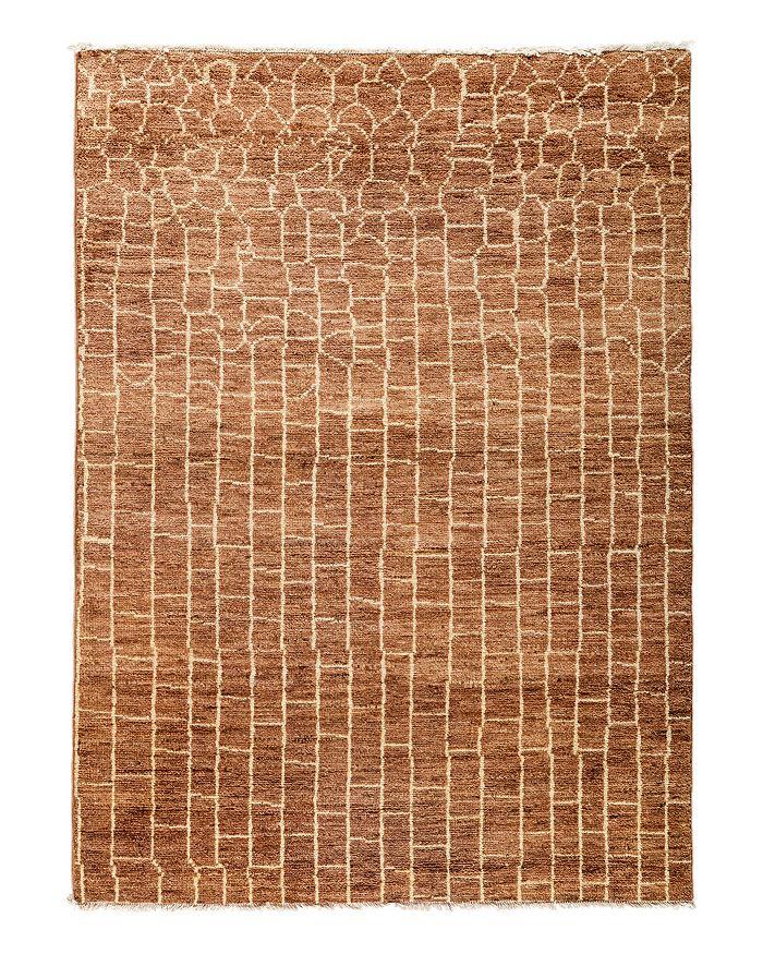 "Solo Rugs - Moroccan Area Rug, 4'10"" x 6'9"""