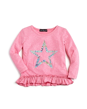Bloomies Infant Girls Slubbed Glitter Star Top Sizes 1224 Months  100 Exclusive