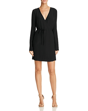 Keepsake Capture Faux Wrap Dress