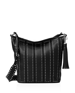 Michael Michael Kors Medium Brooklyn Grommet Feed Bag Crossbody