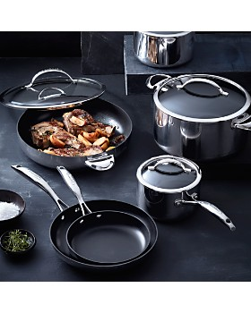 Scanpan - 7.5-Quart Mirror Polished Stainless Steel Covered Dutch Oven - 100% Exclusive