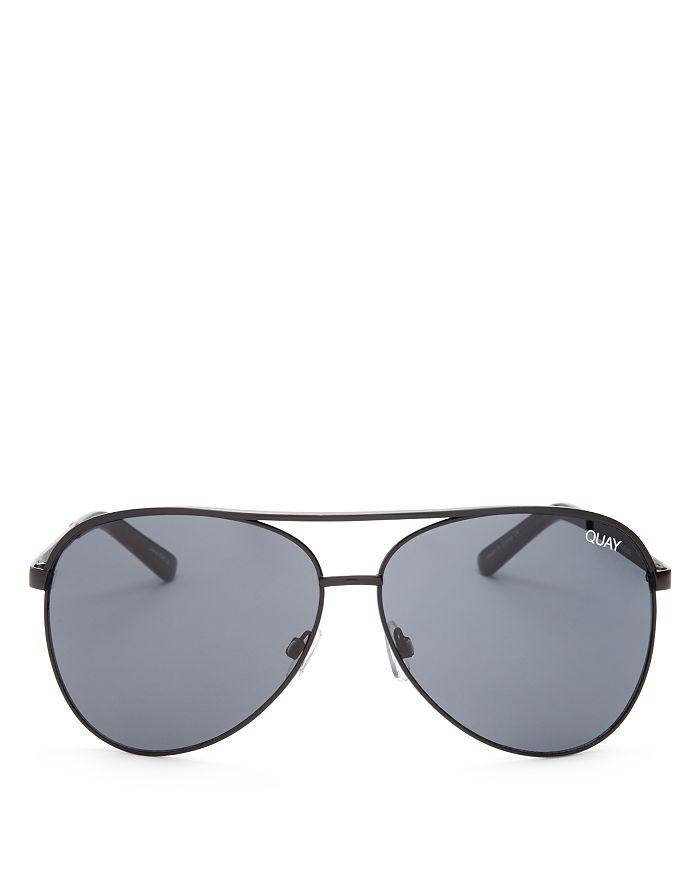 65811bcaea Quay - Women s Vivienne Brow Bar Aviator Sunglasses