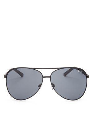 Quay Vivienne Aviator Sunglasses, 65mm
