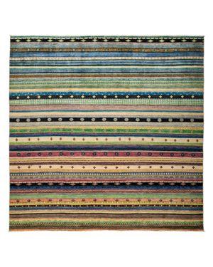 Solo Rugs Tribal Oriental Area Rug, 9'1 x 9'2