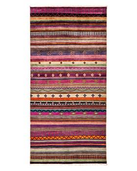 "Solo Rugs - Tribal Oriental Area Rug, 4'2"" x 8'1"""