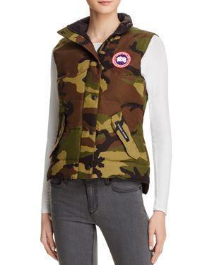 'Freestyle' Slim Fit Down Vest, Classic Camo