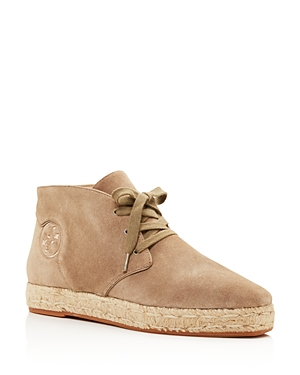 Tory Burch Rios Lace Up Espadrille Booties