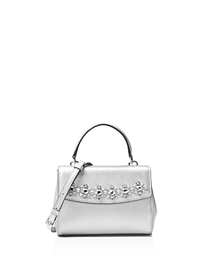 Michael Michael Kors Ava Extra Small Metallic Jewel Crossbody