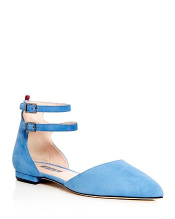 SJP by Sarah Jessica Parker - Women's Consume d'Orsay Pointed Toe Flats - 100% Exclusive