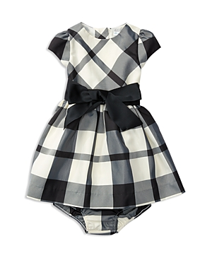 Ralph Lauren Childrenswear Infant Girls Plaid Taffeta Dress  Bloomer Set  Sizes 324 Months