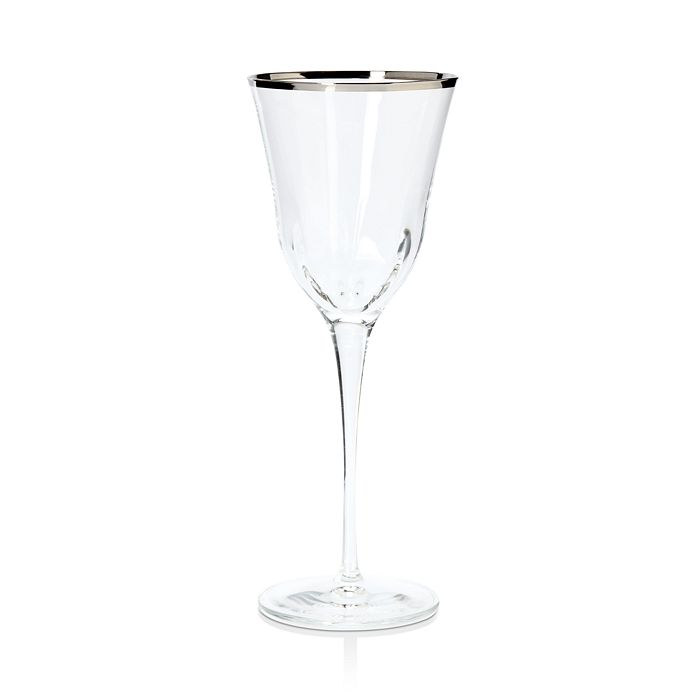 VIETRI - Optical Platinum Water Glass