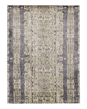 Grit & ground Electro Fusion Silk Area Rug, 6' x 9'