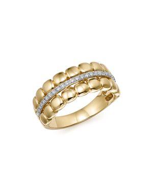Diamond Band in 14K Yellow Gold, .15 ct. t.w.