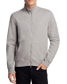 Burberry Sheltone Zip-Front Sweatshirt - Bloomingdale's_0