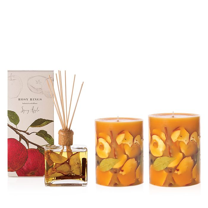 Rosy Rings - Spicy Apple Candles & Diffuser