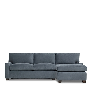 Mitchell Gold Bob Williams Tucker Sleeper Sectional