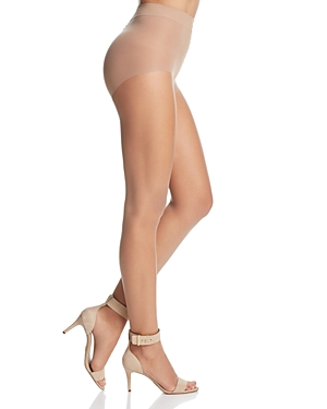 Donna Karan Nude Toeless Control Top Tights