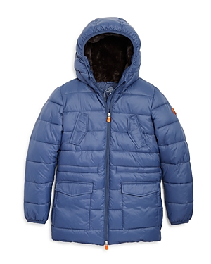 Save The Duck Boys' Quilted Hooded Parka - Sizes 6-14
