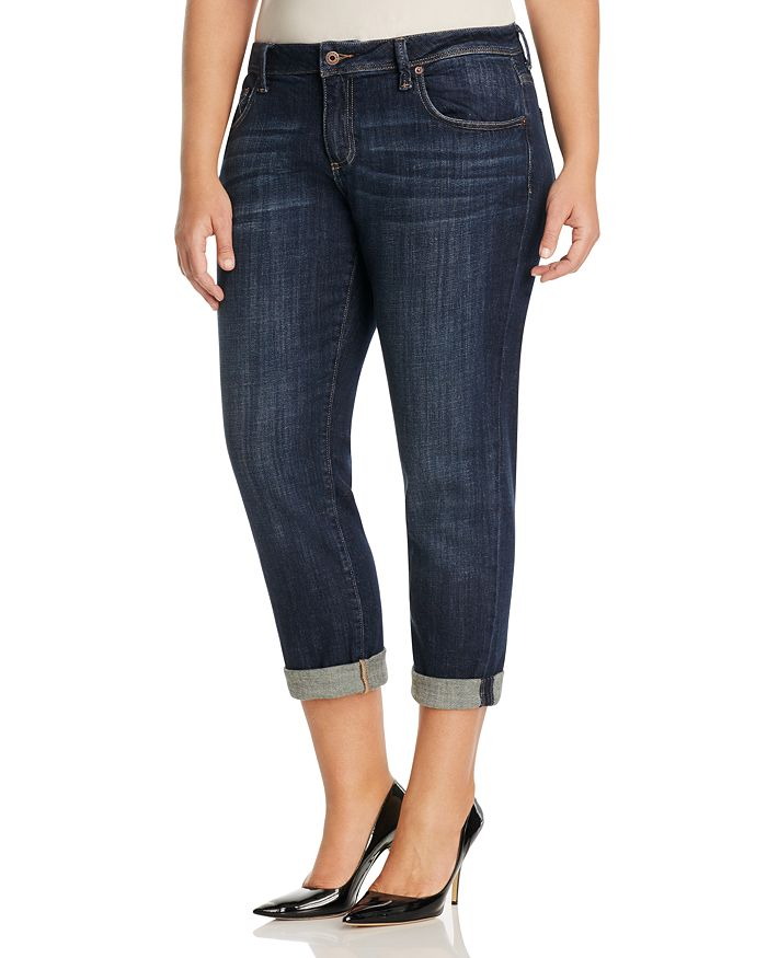 c8eefe7703b Lucky Brand Plus - Reese Boyfriend Jeans in Matira