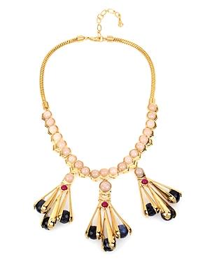 Charm & Chain Statement Necklace, 17