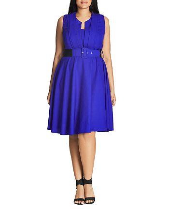 City Chic Plus - Vintage Veronica Dress