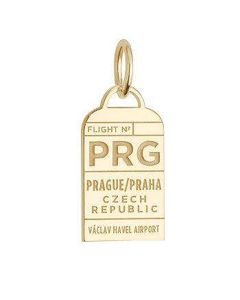 Jet Set Candy - Prague, Czech Republic PRG Luggage Tag Charm