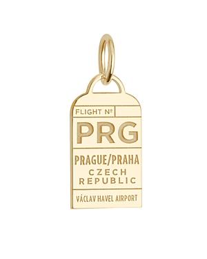 Jet Set Candy Prague, Czech Republic Prg Luggage Tag Charm