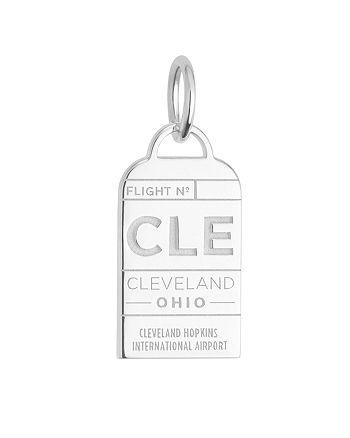 Jet Set Candy - Cleveland, Ohio CLE Luggage Tag Charm