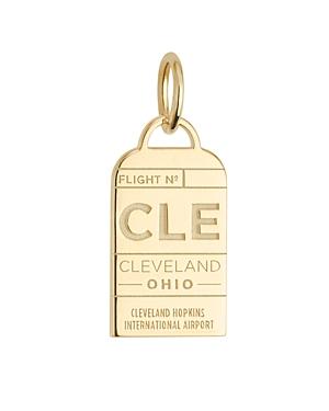 Jet Set Candy Cleveland, Ohio Cle Luggage Tag Charm
