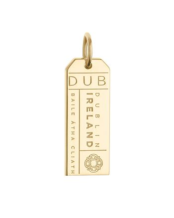 Jet Set Candy - DUB Dublin Luggage Tag Charm