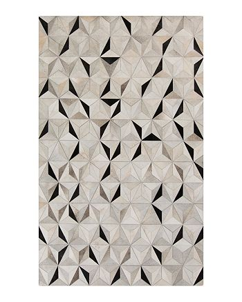 Surya - Trail Area Rug - Charcoal/Gray/Light Gray, 5' x 8'