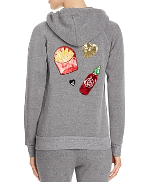 Bow & Drape The Zip Food Emojis Hoodie - 100% Exclusive