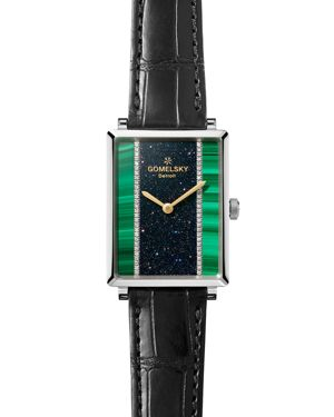Gomelsky The Shirley Fromer Strap Watch with Diamonds, 32mm x 25mm