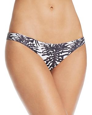 Mikoh Zuma Leaf Print Bikini Bottom