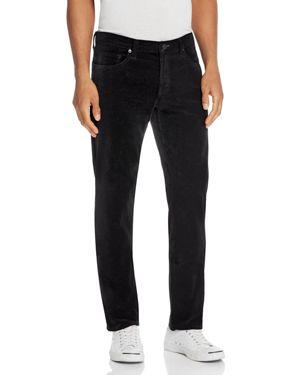 J Brand Tyler Slim Fit Velvet Pants