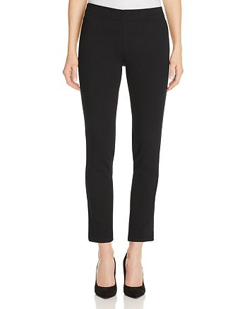 NYDJ - Alina Pull-On Ankle Jeans in Black