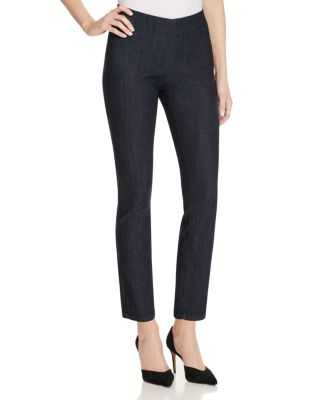 NYDJ Alina Pull-On Tummy-Control Ankle Jeans, Regular & Petite Sizes in Rinse