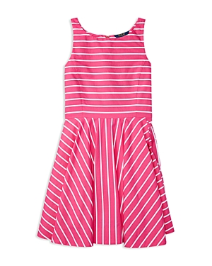 Ralph Lauren Childrenswear Girls Woven Striped Dress  Sizes 716