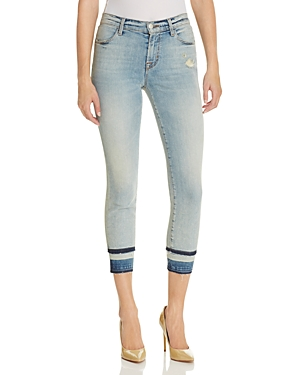 J Brand Alana High Rise Crop Jeans in Remnant