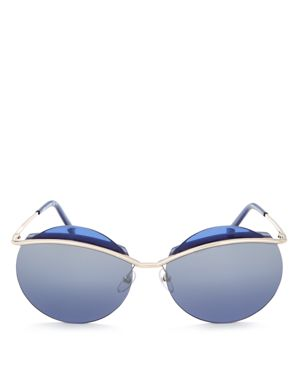 Marc Jacobs Round Sunglasses, 62mm