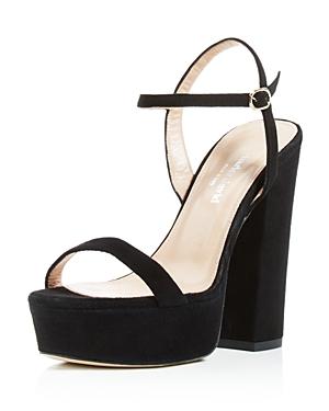 Charles David Retro Platform High Heel Sandals