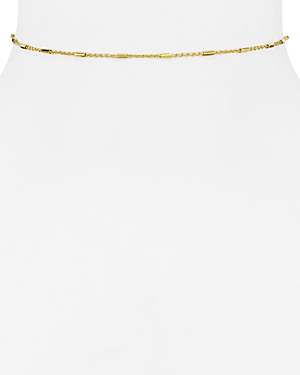 Argento Vivo Bar and Chain Choker Necklace, 12