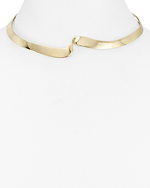 Argento Vivo Sculpted Collar Necklace