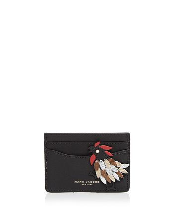 MARC JACOBS - Fire Rooster Card Case