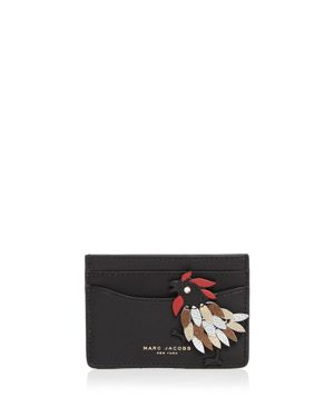 Marc Jacobs Fire Rooster Card Case 1888237