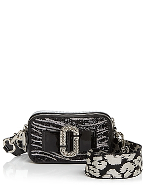 Marc Jacobs Snapshot Zebra Print Bow Camera Bag