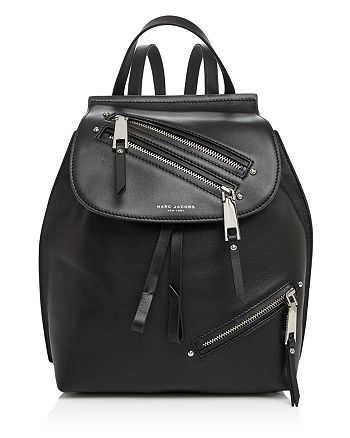 MARC JACOBS - Zip Pack Small Leather Backpack