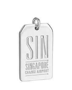 Jet Set Candy - SIN Singapore Luggage Tag Charm