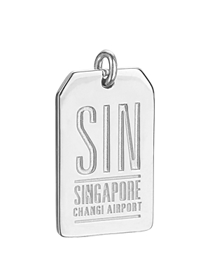 Jet Set Candy Sin Singapore Luggage Tag Charm