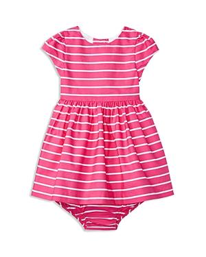 Ralph Lauren Childrenswear Infant Girls Striped Sateen Dress  Sizes 324 Months